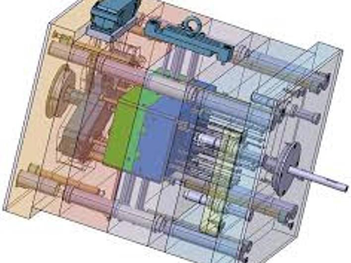 Nákres formy - Plast Form Service IM s.r.o. - vstřikování plastů